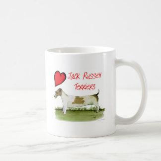 we luv jack russell terriers from Tony Fernandes Coffee Mug