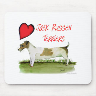 we luv jack russell terriers from Tony Fernandes Mouse Pad