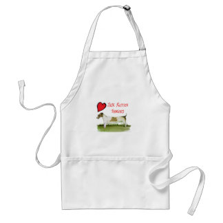 we luv jack russell terriers from Tony Fernandes Standard Apron