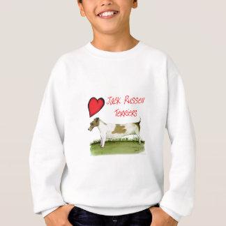 we luv jack russell terriers from Tony Fernandes Sweatshirt