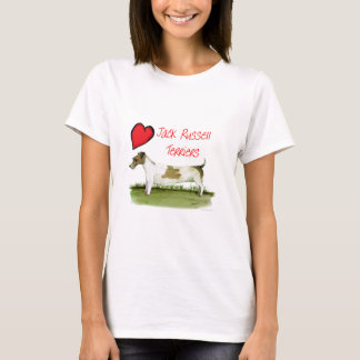 we luv jack russell terriers from Tony Fernandes T-Shirt