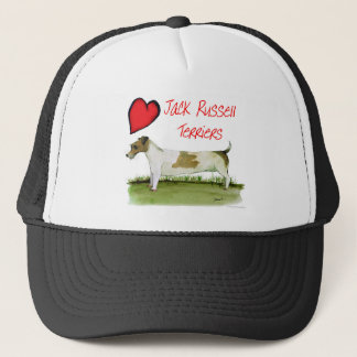 we luv jack russell terriers from Tony Fernandes Trucker Hat