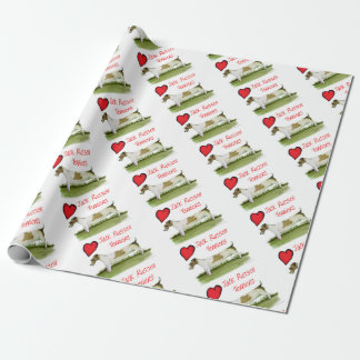 we luv jack russell terriers from Tony Fernandes Wrapping Paper