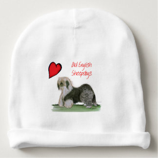 we luv old english sheepdogs, Tony Fernandes Baby Beanie