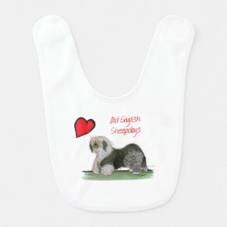 we luv old english sheepdogs, Tony Fernandes Bib