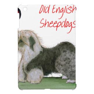we luv old english sheepdogs, Tony Fernandes iPad Mini Cover