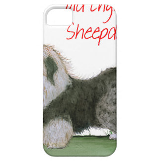 we luv old english sheepdogs, Tony Fernandes iPhone 5 Case