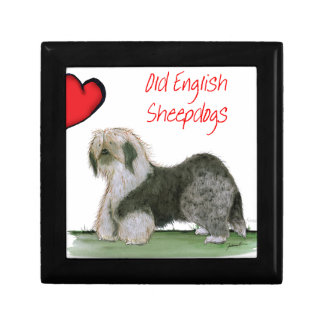 we luv old english sheepdogs, Tony Fernandes Jewelry Box
