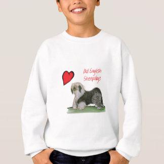 we luv old english sheepdogs, Tony Fernandes Sweatshirt
