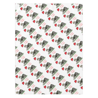 we luv old english sheepdogs, Tony Fernandes Tablecloth