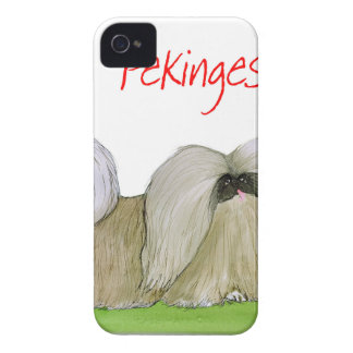 we luv pekingese from Tony Fernandes Case-Mate iPhone 4 Cases