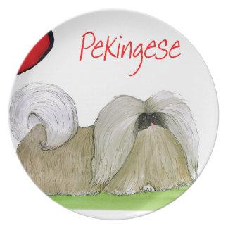we luv pekingese from Tony Fernandes Plate