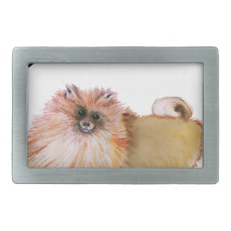 we luv pomeranians from Tony Fernandes Belt Buckle