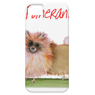 we luv pomeranians from Tony Fernandes iPhone 5 Cover