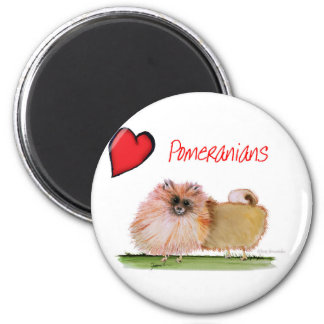 we luv pomeranians from Tony Fernandes Magnet
