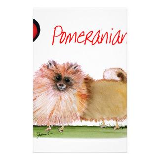 we luv pomeranians from Tony Fernandes Stationery