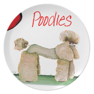 we luv poodles from Tony Fernandes Plate