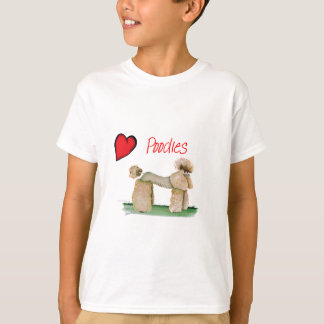 we luv poodles from Tony Fernandes T-Shirt