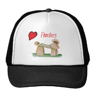 we luv poodles from Tony Fernandes Trucker Hat