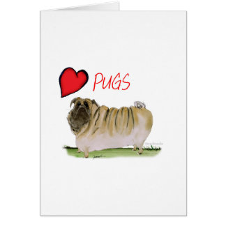 we luv pugs from Tony Fernandes Card