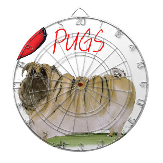 we luv pugs from Tony Fernandes Dartboard