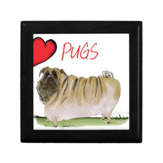 we luv pugs from Tony Fernandes Gift Box