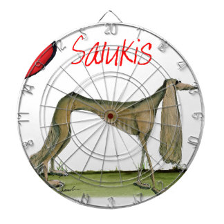 we luv salukis from Tony Fernandes Dartboard