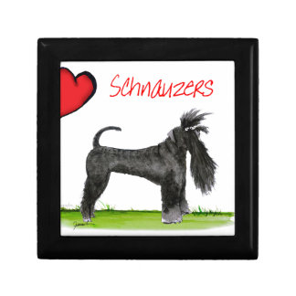 we luv schnauzers from tony fernandes gift box