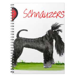 we luv schnauzers from tony fernandes notebooks