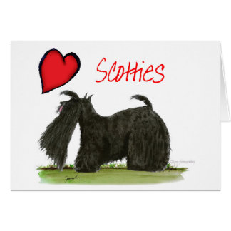 we luv scotties from Tony Fernandes Card