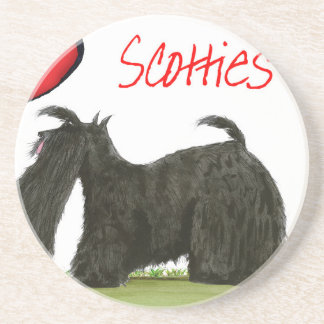 we luv scotties from Tony Fernandes Coaster