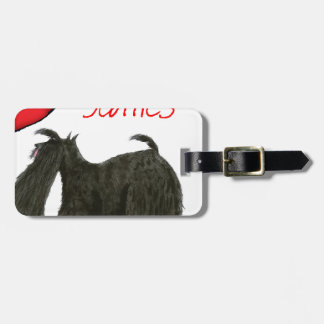 we luv scotties from Tony Fernandes Luggage Tag
