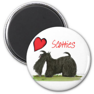 we luv scotties from Tony Fernandes Magnet