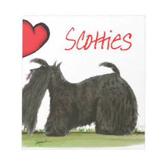 we luv scotties from Tony Fernandes Notepad