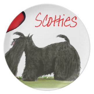 we luv scotties from Tony Fernandes Plate