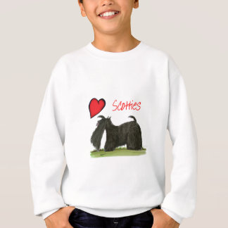 we luv scotties from Tony Fernandes Sweatshirt