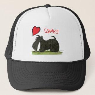 we luv scotties from Tony Fernandes Trucker Hat