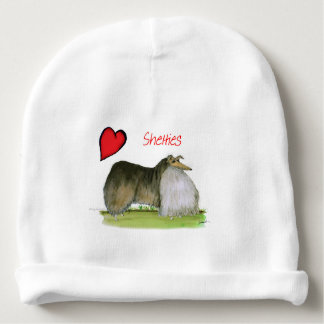 we luv shetland sheepdogs from Tony Fernandes Baby Beanie