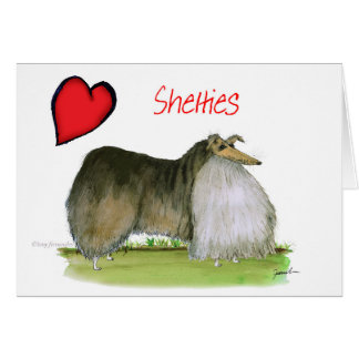 we luv shetland sheepdogs from Tony Fernandes Card