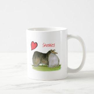 we luv shetland sheepdogs from Tony Fernandes Coffee Mug