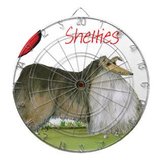 we luv shetland sheepdogs from Tony Fernandes Dartboard