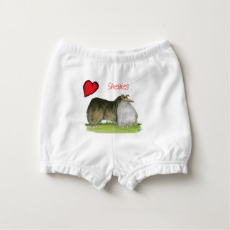 we luv shetland sheepdogs from Tony Fernandes Diaper Cover