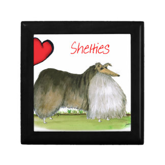 we luv shetland sheepdogs from Tony Fernandes Gift Box