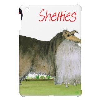 we luv shetland sheepdogs from Tony Fernandes iPad Mini Case