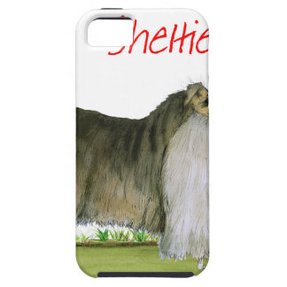 we luv shetland sheepdogs from Tony Fernandes iPhone 5 Cover