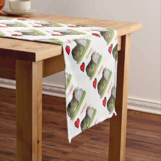 we luv shetland sheepdogs from Tony Fernandes Short Table Runner