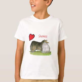 we luv shetland sheepdogs from Tony Fernandes T-Shirt