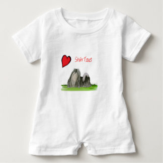 we luv shih tzus from Tony Fernandes Baby Romper