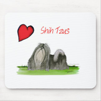 we luv shih tzus from Tony Fernandes Mouse Pad