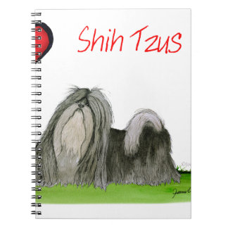 we luv shih tzus from Tony Fernandes Notebook